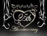 Romantic 25th Anniversary Ideas images